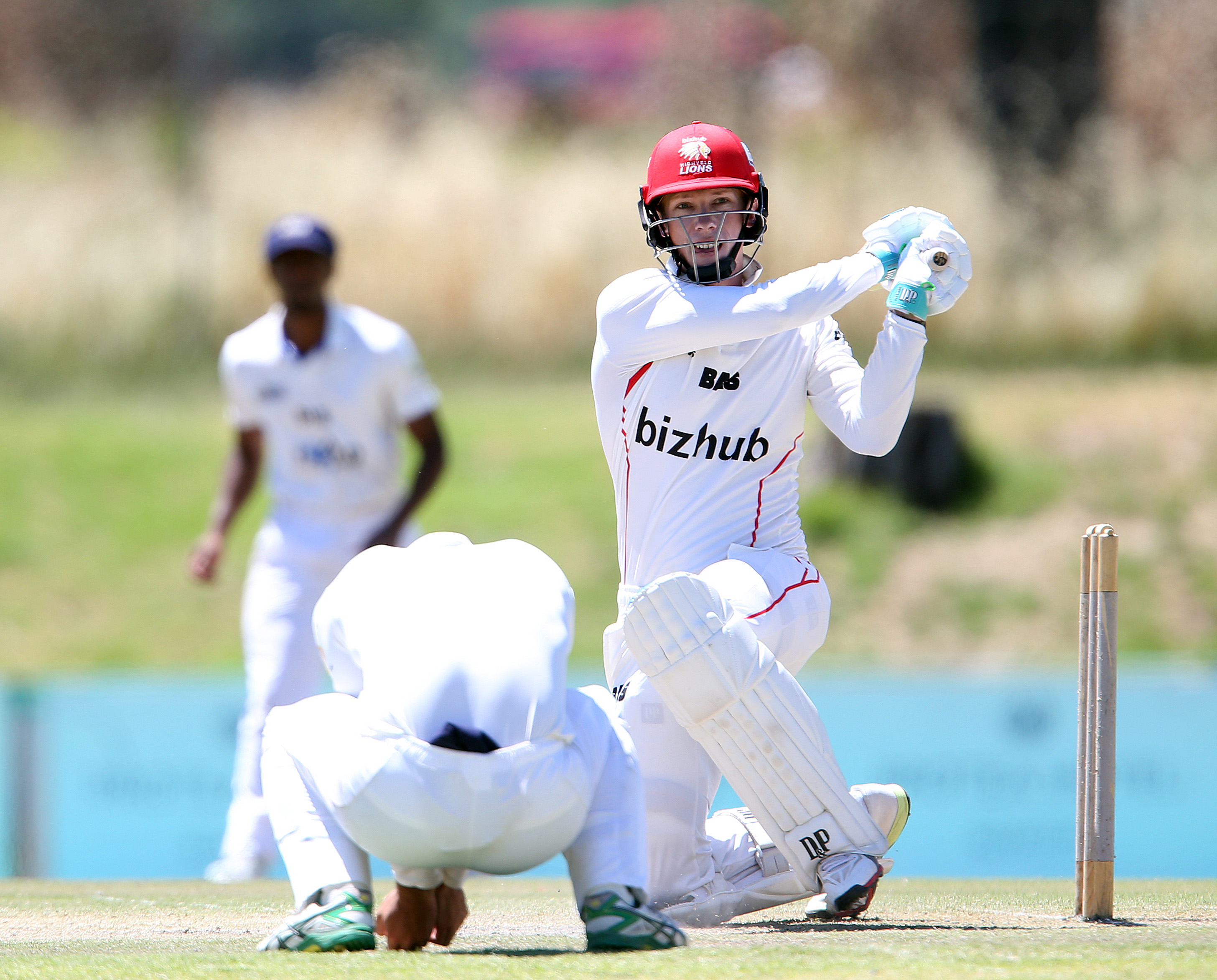PAARL, SOUTH AFRICA - NOVEMBER 07: Rassie van der Dussen of Lions during day 3 of the 4 Day Franchise Series match between WSB Cape Cobras and bizhub Highveld Lions at Eurolux Boland Park on November 07, 2018 in Paarl, South Africa. (Photo by Carl Fourie/Gallo Images)
